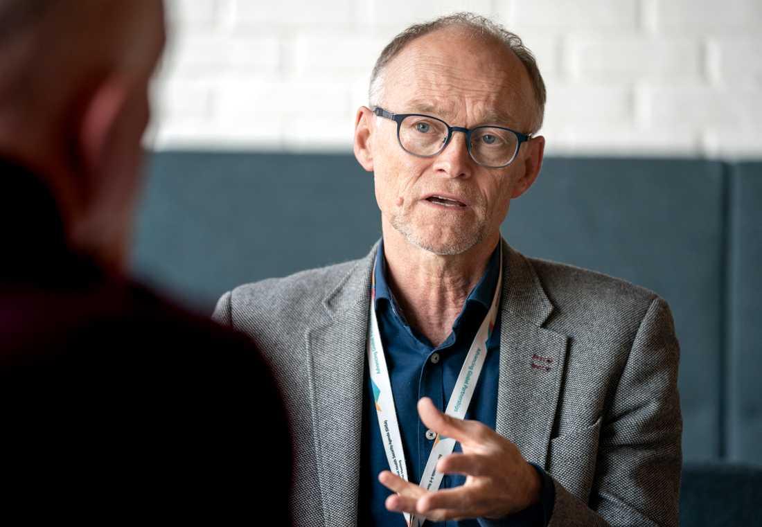 Frode Forland, smittskyddsdirektör vid norska Folkehelseinstituttet.