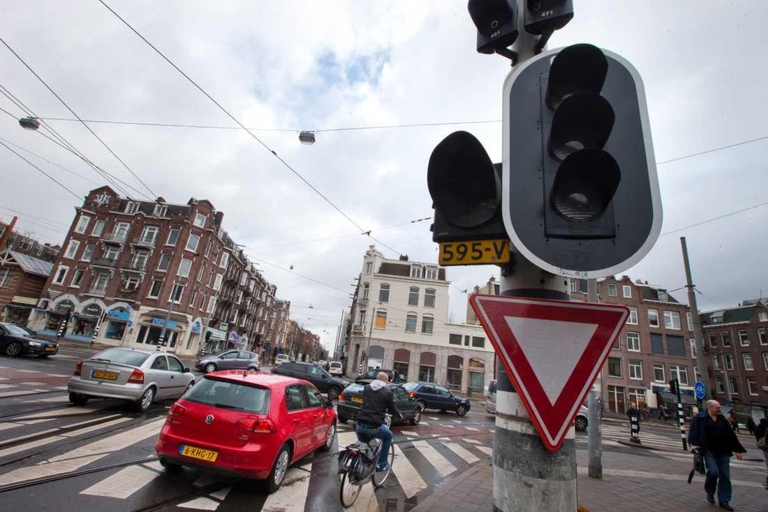 Amsterdam kommer att förbjuda bränsledrivna bilar år 2030. Arkivbild.