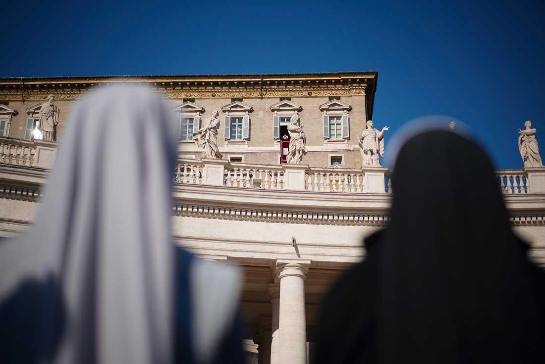En kvinna har för första gången utsetts till en av Vatikanstatens högst uppsatta diplomater. Arkivbild.