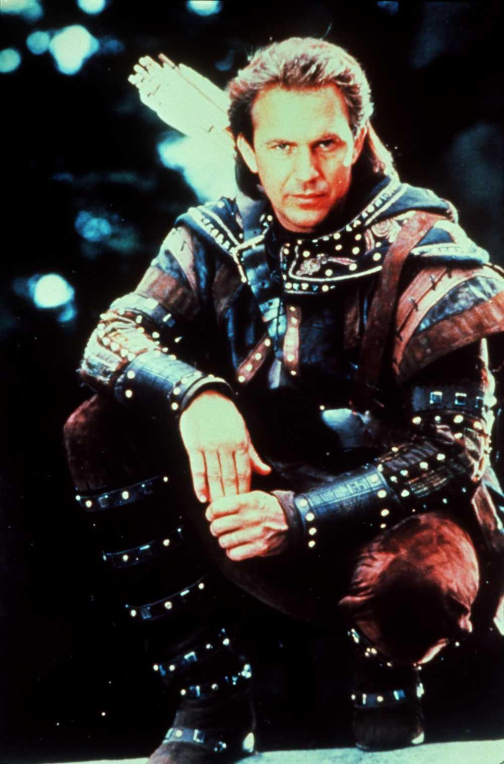 Kevin Costner som Robin Hood.