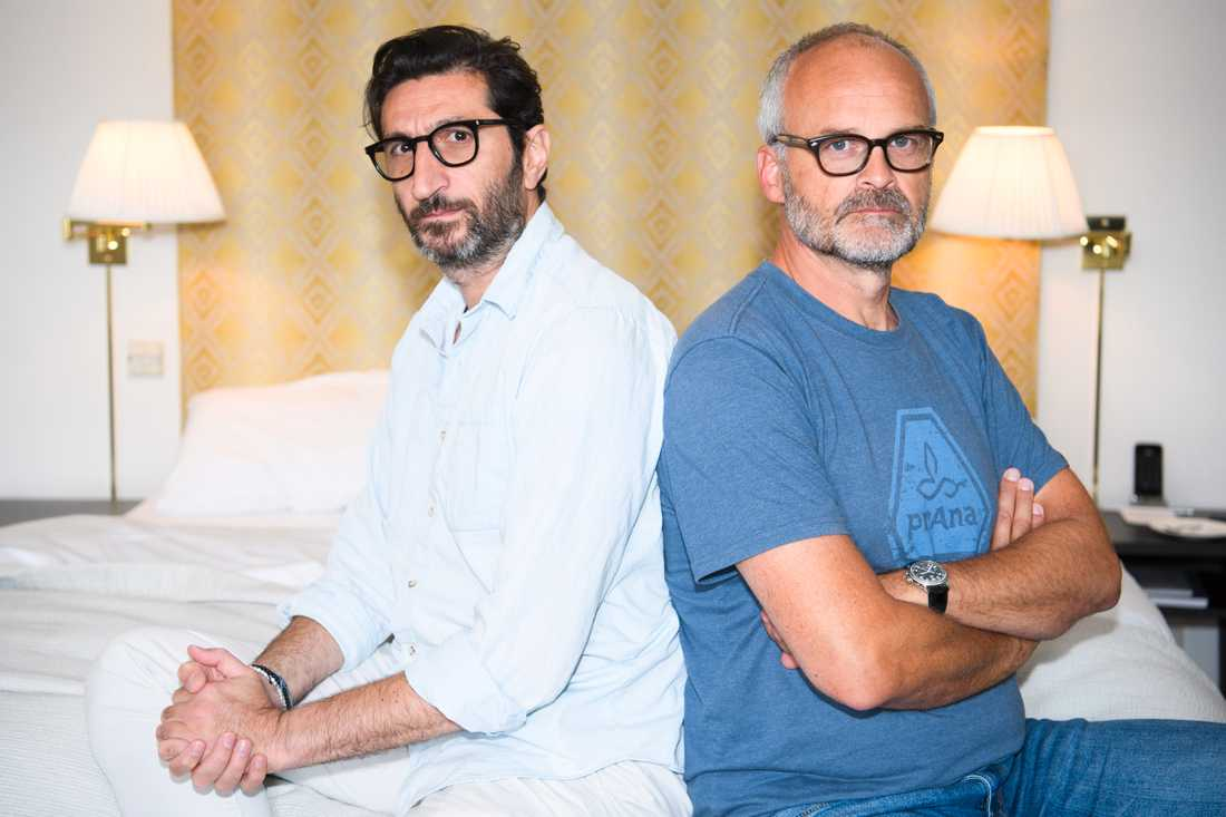 """Fares Fares (tv) och Johan Rheborg spelar huvudrollerna i Viaplays nya originalserie """"Partisan"""", där ekobönder ruvar på våldsamma hemligheter."""