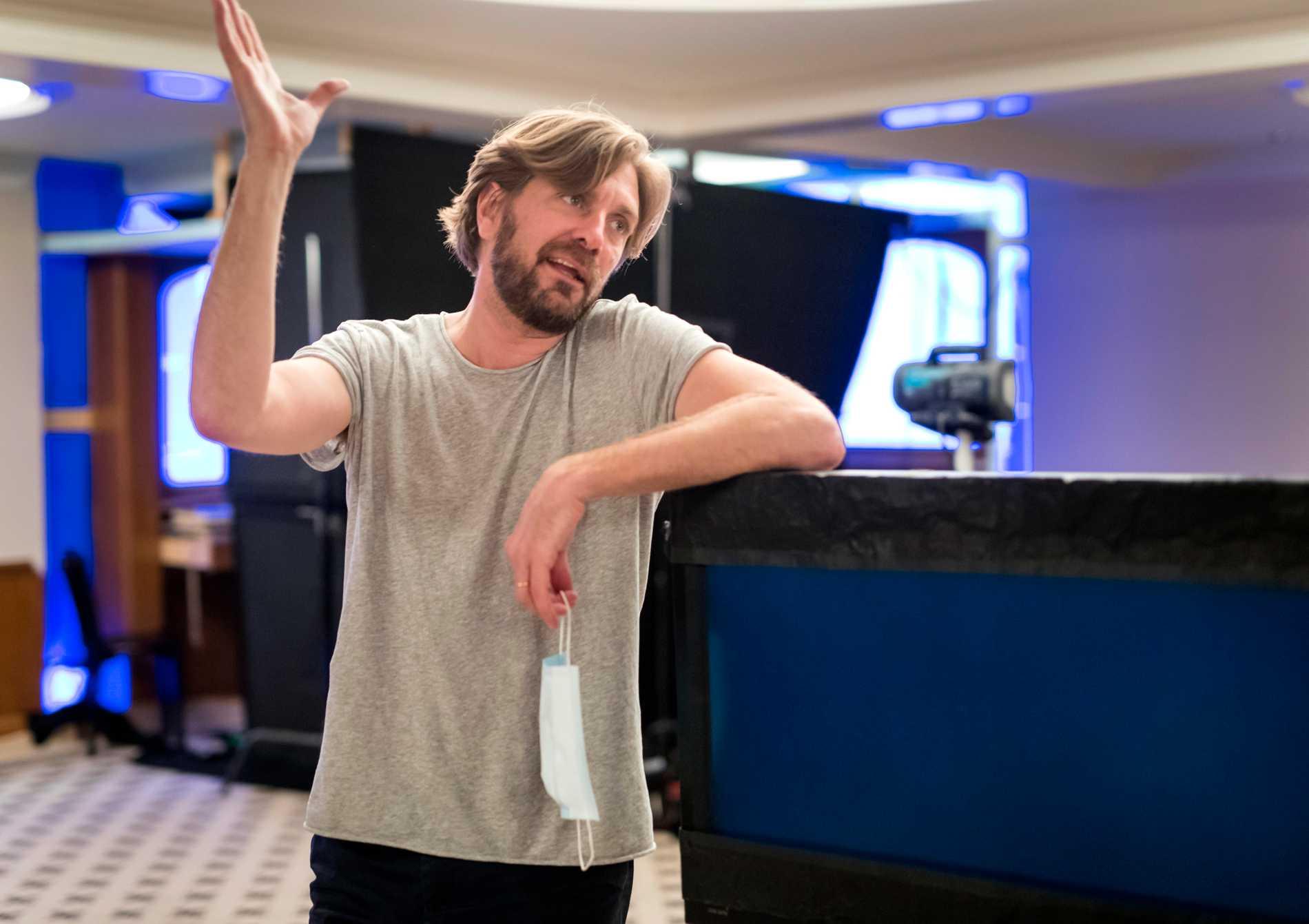 """Ruben Östlund och hans team har bestämt sig för att flytta premiären för """"Triangle of sadness"""" till nästa års Cannesfestival. Arkivbild."""