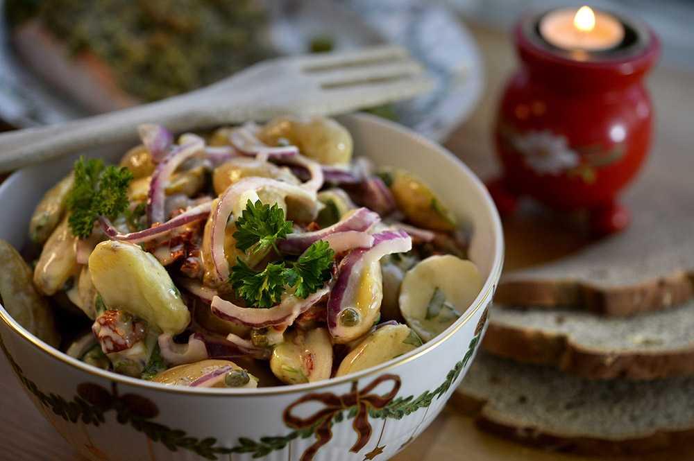 Fransk potatissallad – enkelt basrecept