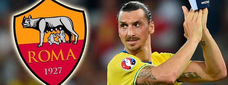 Blir Roma Zlatans nästa klubbadress?
