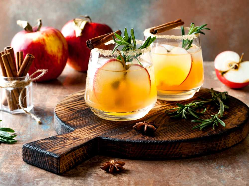 Äpple och kanel ger ny smak till den klassiska drinken.
