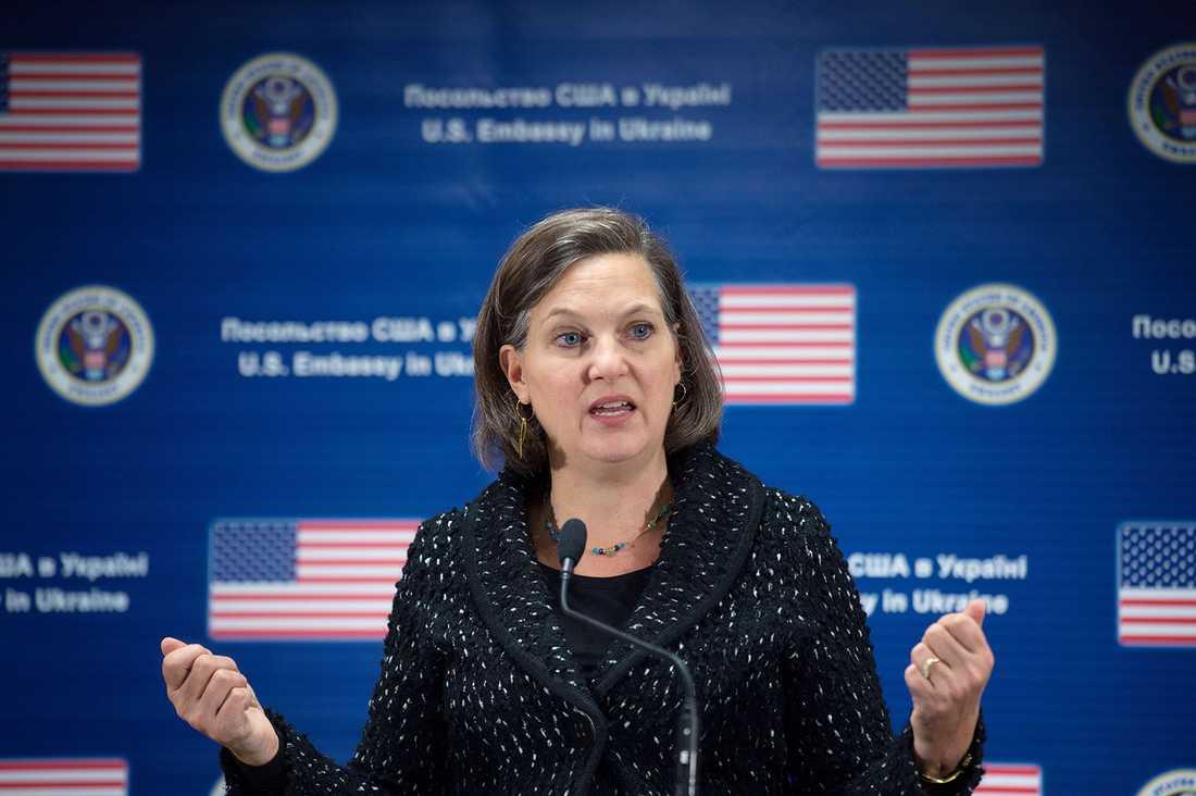 Victoria Nuland, USA nya toppdiplomat för Europa, bad på torsdagen om ursäkt för sitt grova språk.