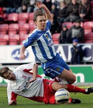 Andreas Johansson i Wigan 2006.