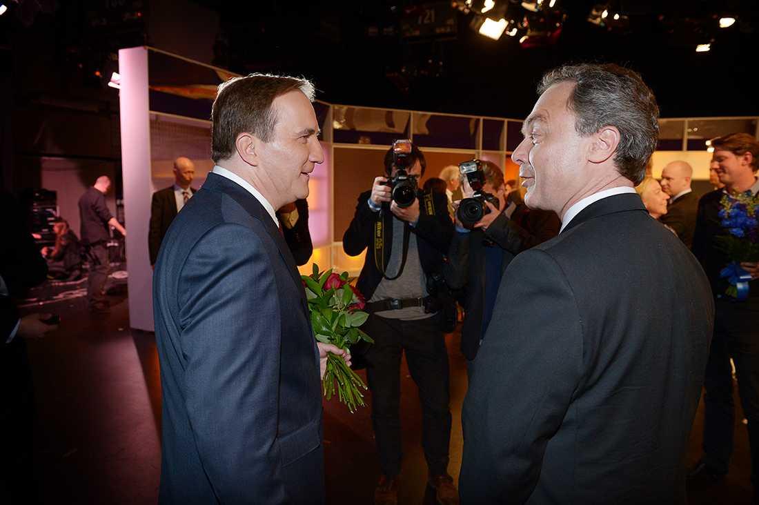 Stefan Löfven och Jan Björklund.