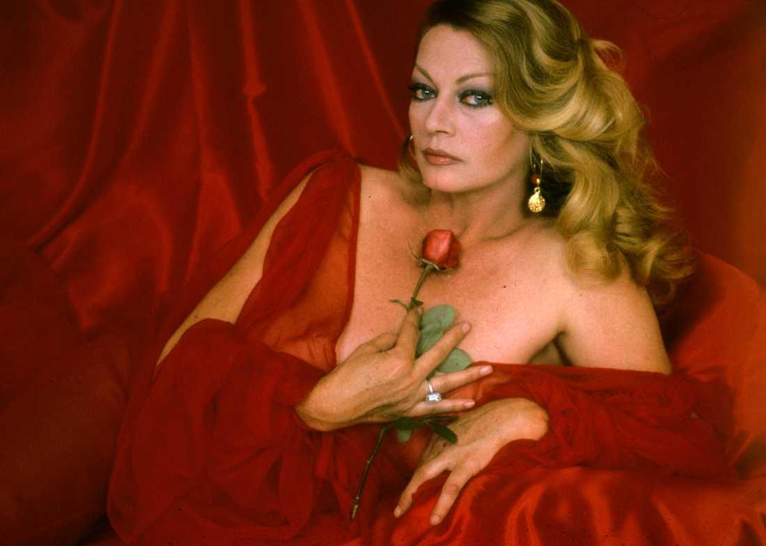 Anita Ekberg ca 1978