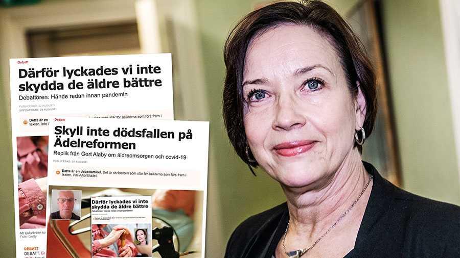 Det är ett faktum att när man flyttar in på ett vårdboende i dag är man väsentligt sjukare än man var för 30 år sedan och i behov av fler sjukvårdsinsatser. Vi som jobbat i verksamheterna har sett förändringen som ädelreformen medförde med våra egna ögon, skriver Kristina Nilsson.