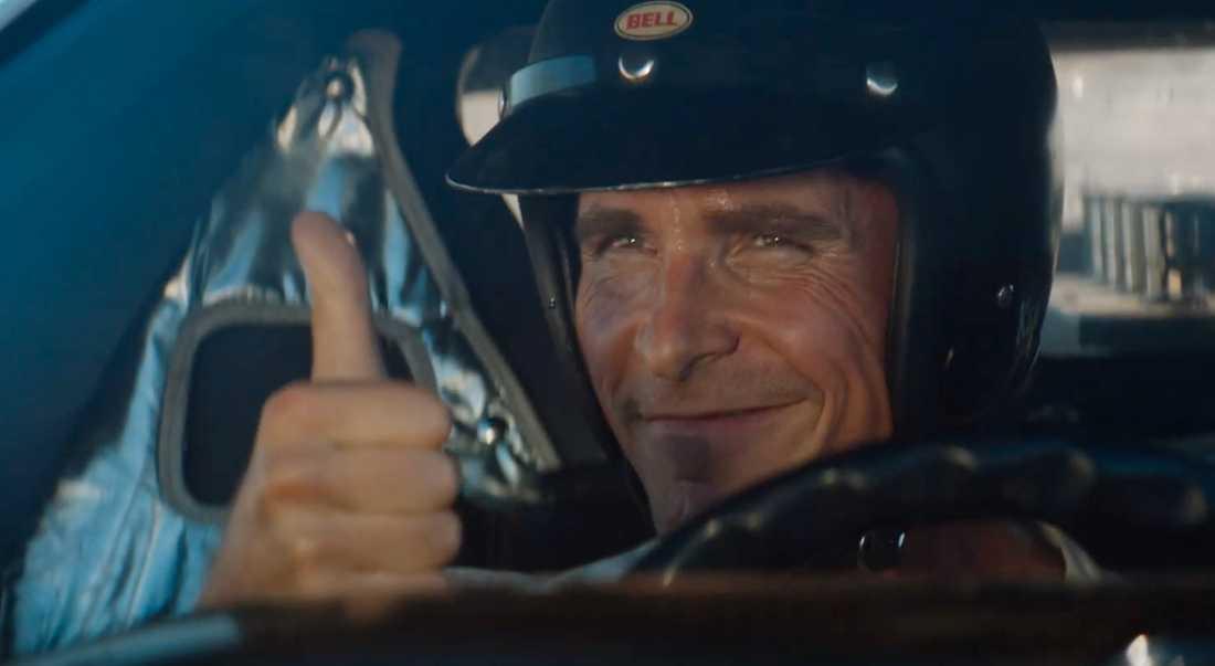 "Christian Bale i ""Le Mans '66""."