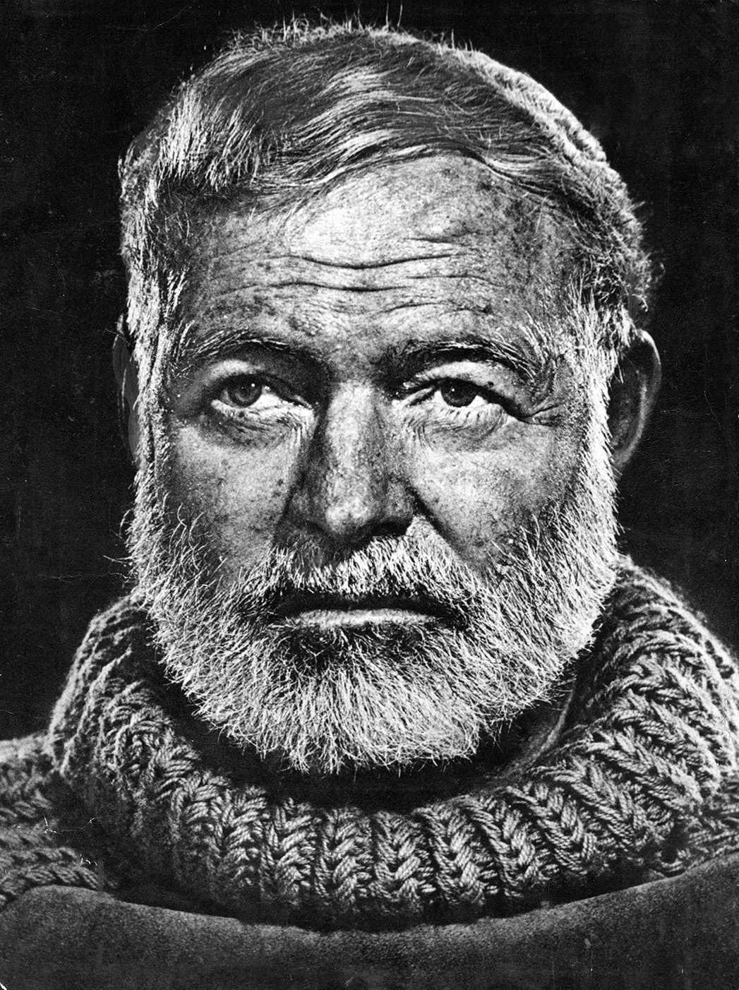 Ernest Hemingway, författare och journalist. Fick Nobelpriset i litteratur 1954.