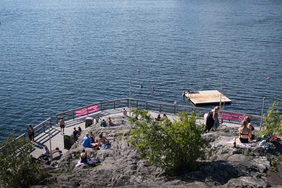 De senaste åren har badvattnet i Sverige försämrats. Arkivbild.