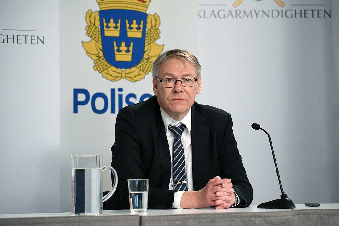 Chefsåklagare Krister Petersson.