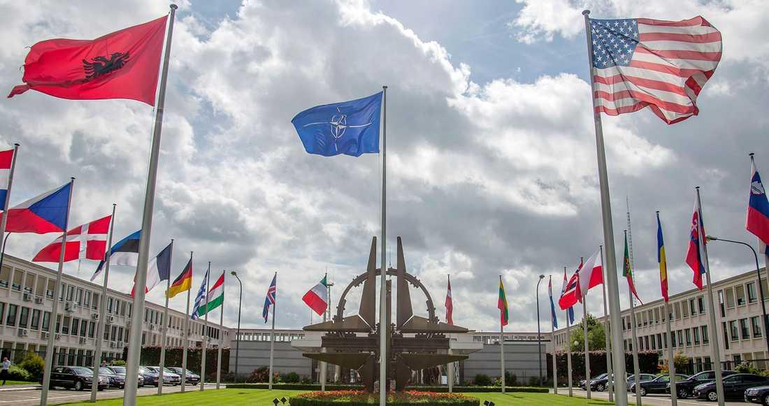 Natos högkvarter i Bryssel.
