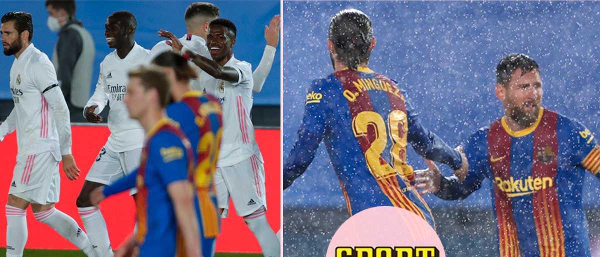 """Sågningen av Barcelonas försvar: """"Tre hangarfartyg"""""""