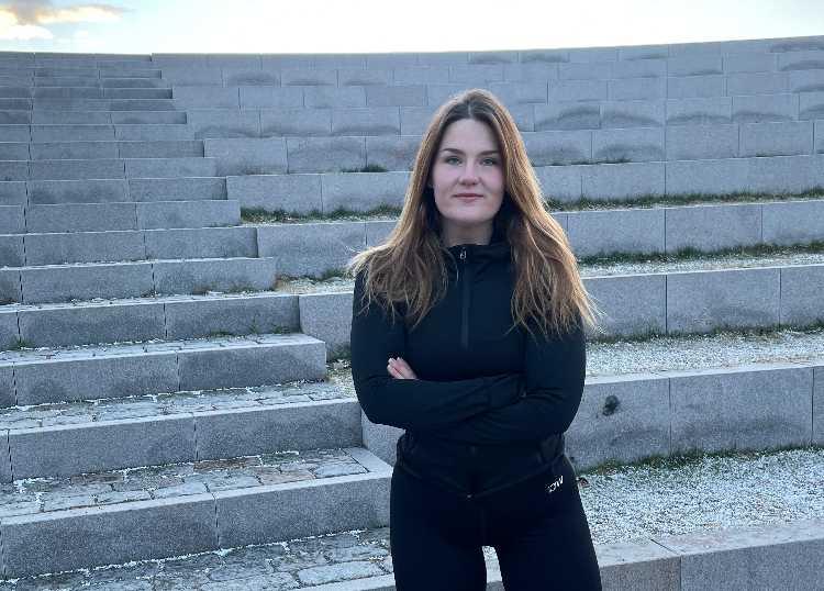 """""""Jag brukar kalla tiden efter vinsten för mitt svarta hål."""", säger Biggest Loser-vinnaren Mona Eriksson, 23."""