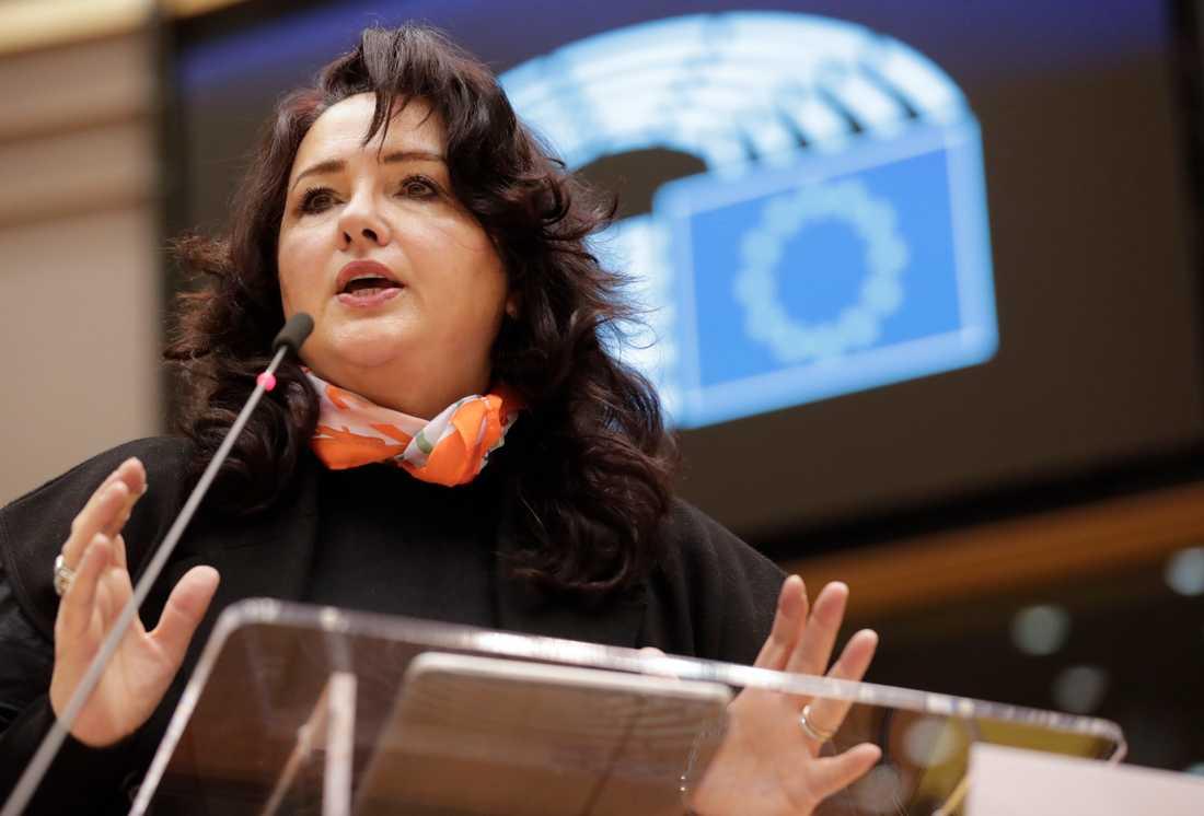 EU:s jämställdhetskommissionär Helena Dalli prisar Jönköping för dess arbete med tillgänglighetsfrågor. Arkivfoto.