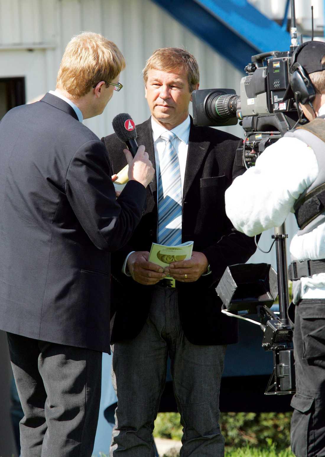 Thomas Nilsson var uppskattad travexpert i TV4 efter kuskkarriären.