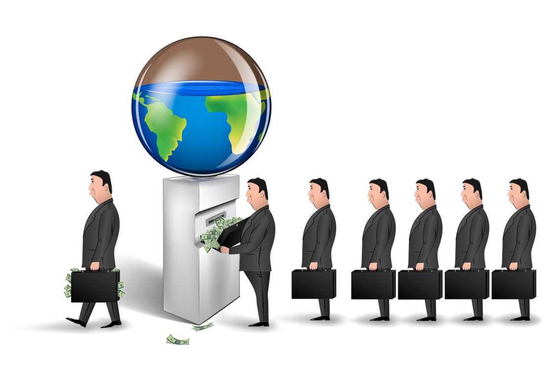 """Slutplundrat? Sociologen Erik Olin Wright skissar i boken """"Antikapitalism"""" på hur världen skulle kunna lämna det rådande ekonomiska systemet. """"Naivt"""", skriver Sven  Anders Johansson."""