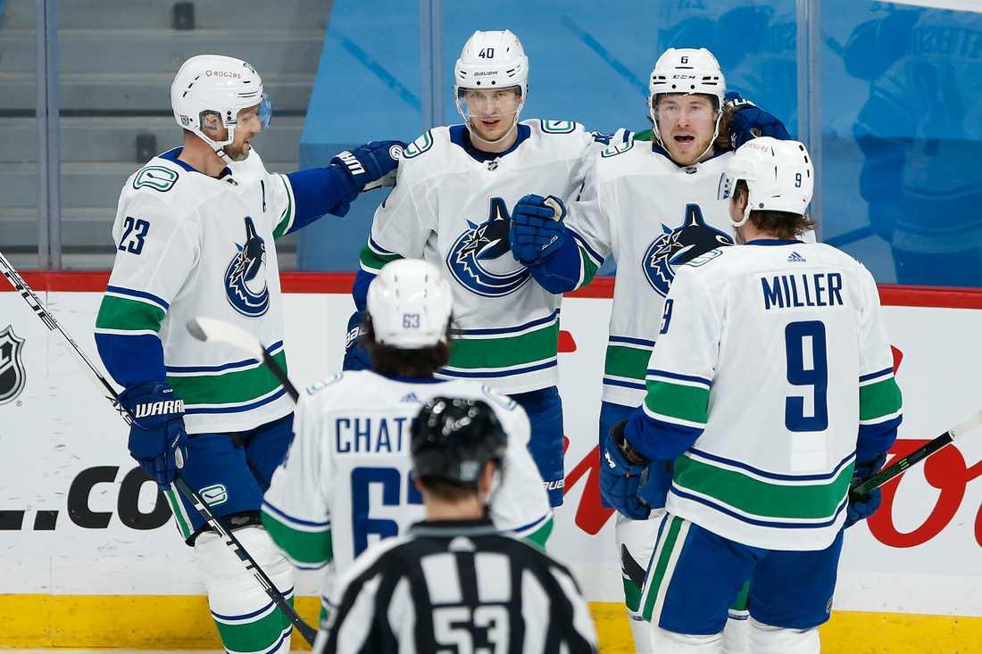 Vancouver Canucks är på väg tillbaka efter corona-isoleringen.