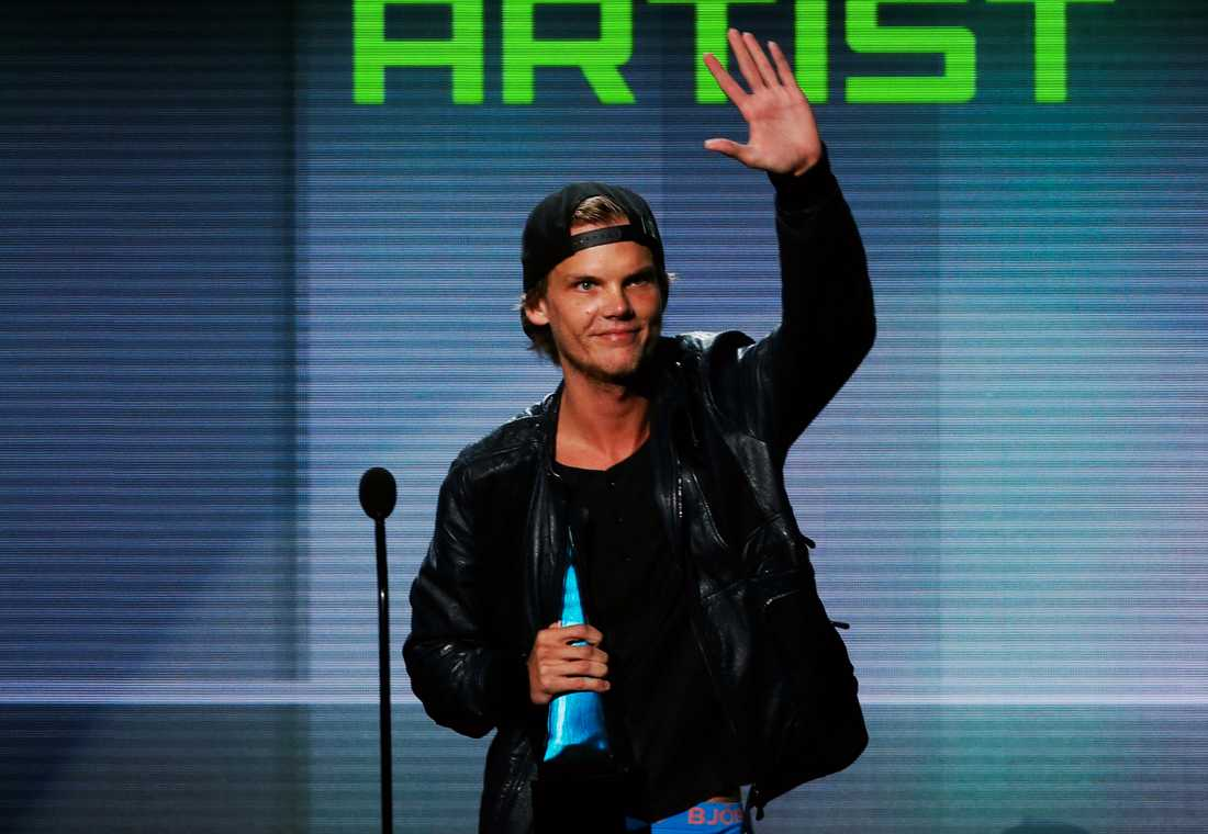 Avicii prisas på American music Awards i Los Angeles 2013.