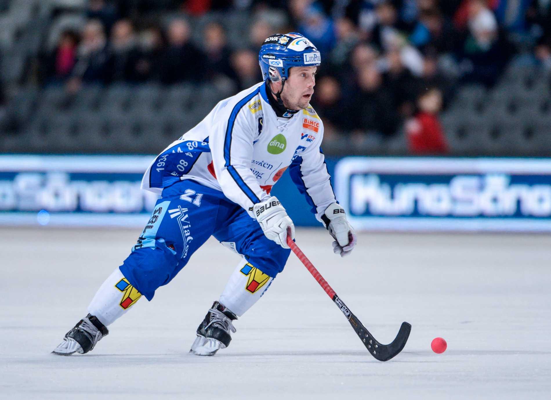 Jesper Bryngelson var inne på sin nionde säsong i Villa Lidköping.