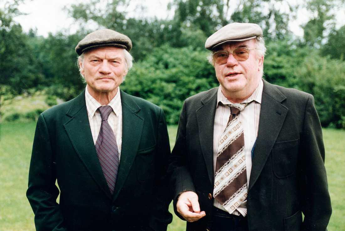 Tord Peterson och Ernst Günther.