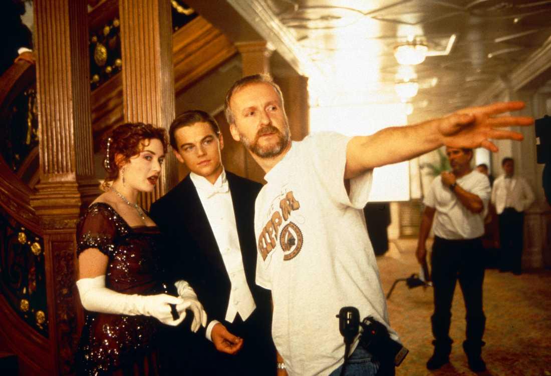 Kate och Leo får regi av James Cameron.