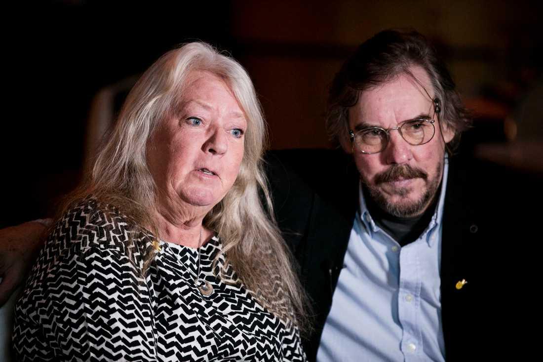 Kim Walls föräldrar, Ingrid och Joachim Wall.