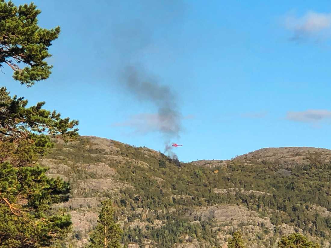 En helikopter störtade i Alta i Nordnorge på lördagskvällen. Samtliga sex personer ombord, bland annat en svensk pilot, omkom i olyckan.