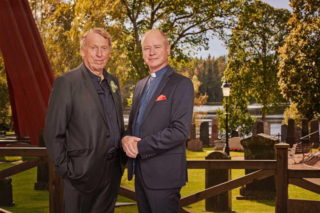 Tomas von Brömssen och  Robert Gustafsson.