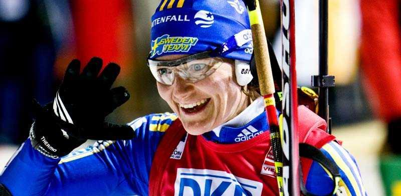 En vink om medalj? Anna Carin Olofsson gjorde ett kanonlopp i går och blev fyra. Bättre lycka för ACO och svenska mixlaget i dag?