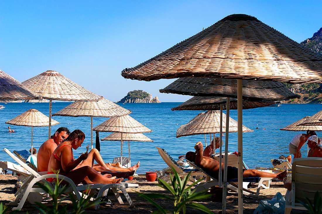 Semesterorten Içmeler ligger i Marmarisområdet i sydvästra Turkiet.