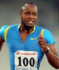 Asafa Powell, världens näst snabbaste man.