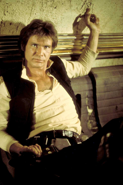"""Harrison Ford i rollen som Han Solo i """"Stjärnornas krig""""."""