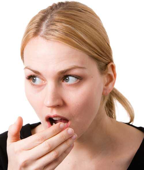 metallsmak i munnen förkylning