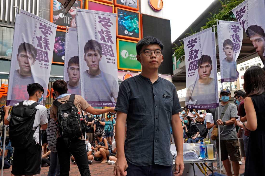 Demokratiaktivisten Joshua Wong.