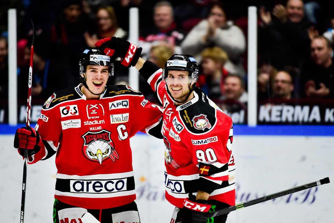 En av matcherna som gick in var Malmö Redhawks 2-1-vinst borta mot Asplöven.