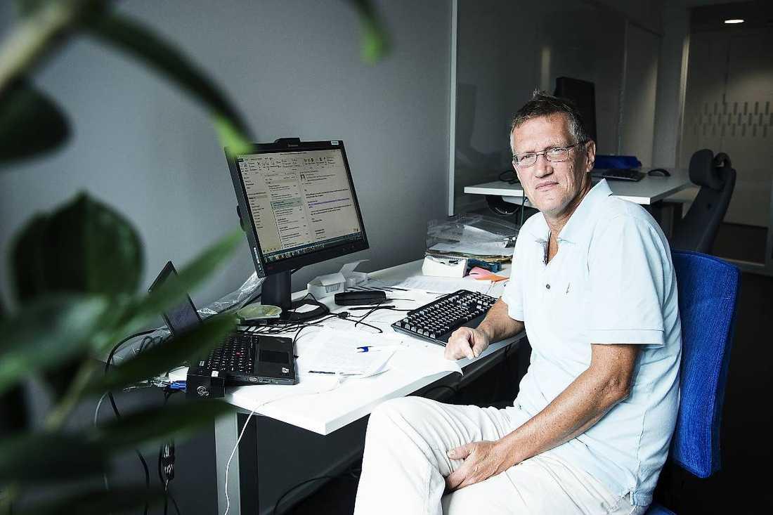Anders Tegnell, statsepidemologi på Folkhälsomyndigheten.