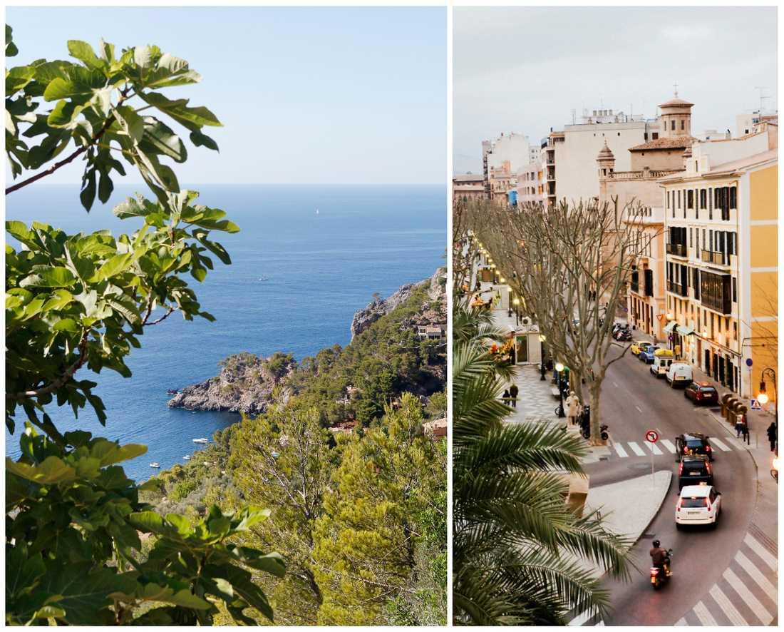 Spanska öarna Mallorca och Ibiza vill snart förbjuda diesel- och bensinbilar,