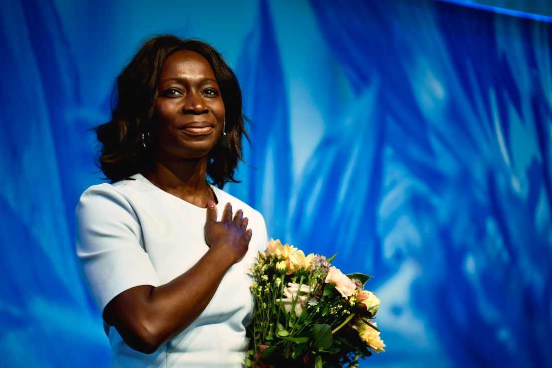 Nyamko Sabuni valdes i dag enhälligt till ny partiledare för Liberalerna.
