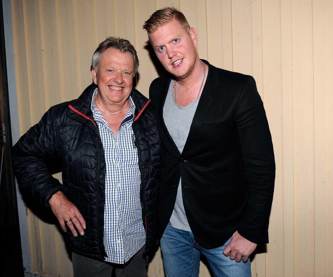 Sven-Erik och sonen Oscar.