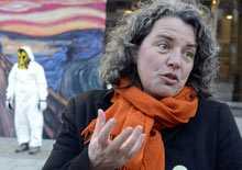 Martina Krüger på Greenpeace.