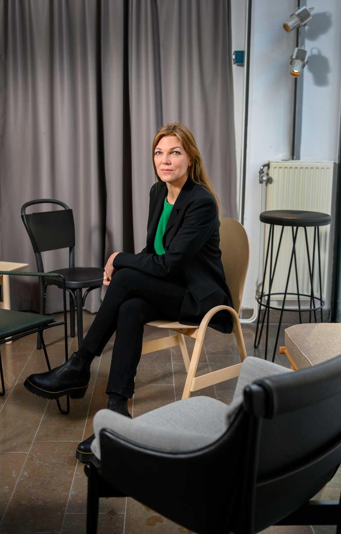 Christine Ingridsdotter, projektledare på branschorganisationen Inside Swedish Design.