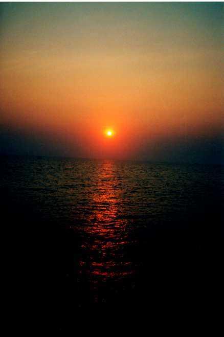 På Koh Samet är solnedgången något alldeles extra.