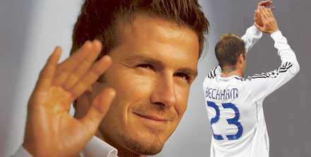 Lämnar Madrid Nästa klubbadress för David Beckham: LA Galaxy.