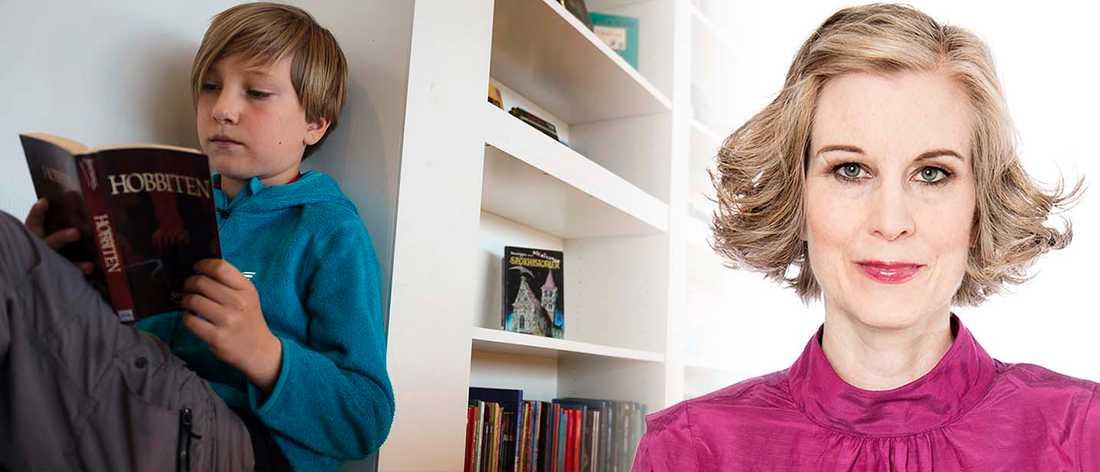 Börja med instruktionsböckerna så kommer barnen till de fina böckerna sen, skriver Linda Skugge.