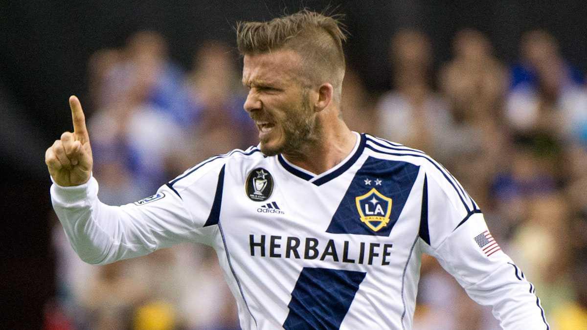 David Beckham, Los Angeles Galaxy.