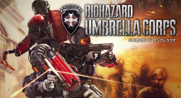 """Resident evil: Umbrella corps"" (""Resident evil""-serien heter ""Biohazard"" i hemlandet Japan)."